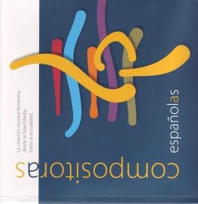 """Portada del libro """"Compositoras españolas"""""""