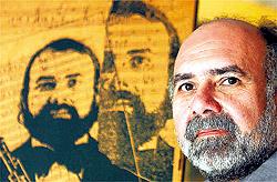 El director y compositor salvadoreño Germán Cáceres, uno de los maestro de Carlos Colón-Quintana.