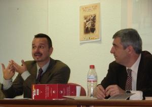 Rafael Valladares (der.) y Manuel Rivero